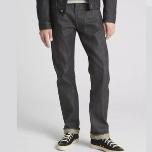 Gap 1969 Kaihara Selvedge Straight Raw Denim Jeans